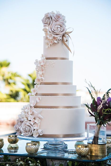16-Lisa Stoner Events – Hammock Beach Resort -Armenian wedding reception – Luxury North Florida Wedding Planner – Hammock Beach Wedding Reception -elegant wedding cake.jpg