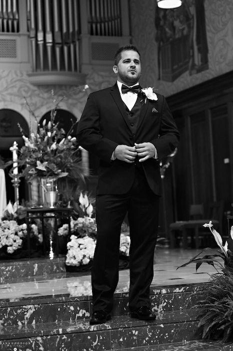 3-Lisa Stoner Events – St Augustine Wedding Ceremony – Cathedral Basilica of St Augustine – Armenian wedding – Luxury North Florida Wedding Planner – waiting groom.jpg