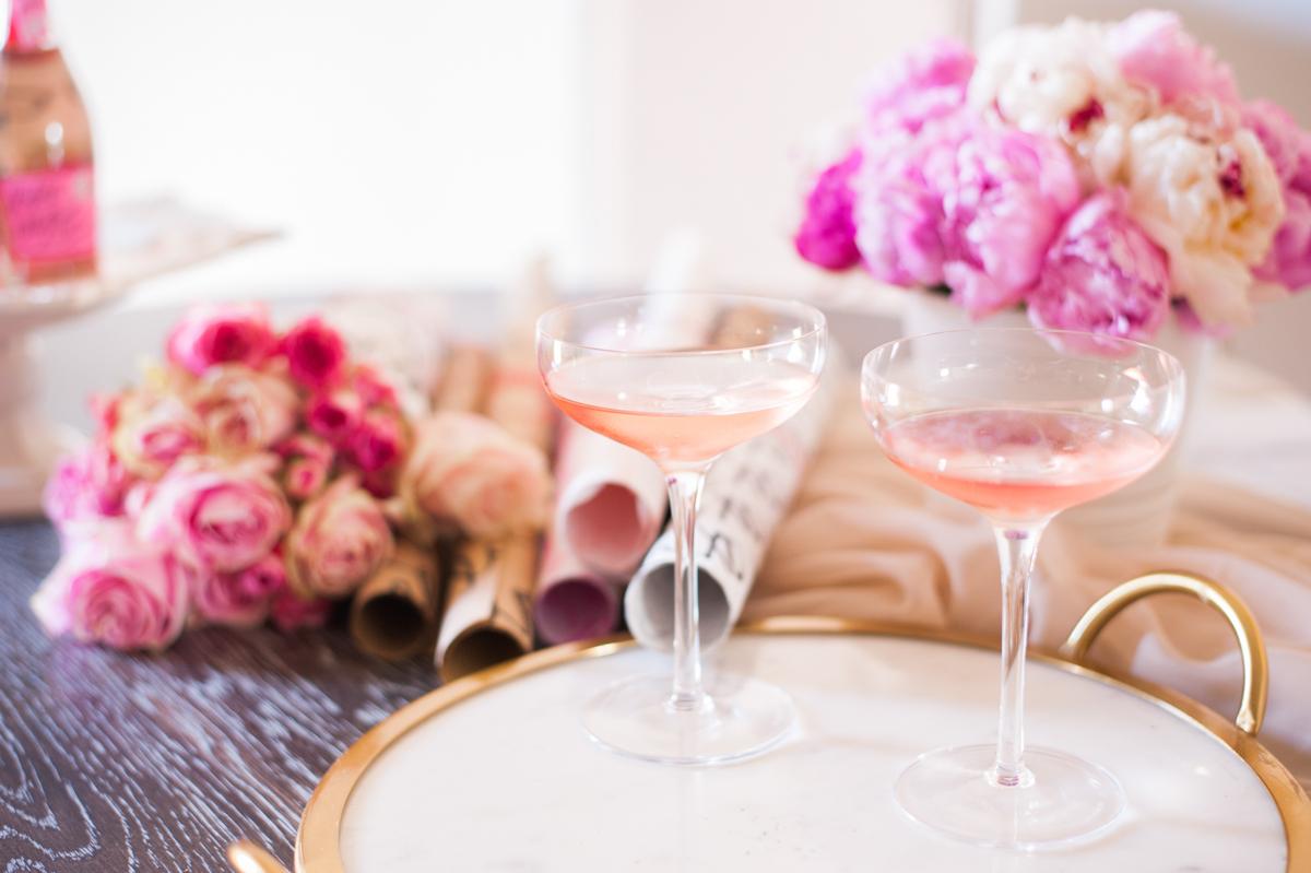 Pink Valentine's Flowers + Lisa Stoner + Abby Liga